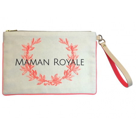 "Pochette Maman Royale ""Lauriers"""
