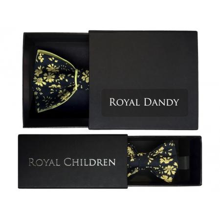 Noeuds papillon ADULTE + ENFANT Chevalier noir