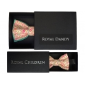 """Adult and child """"Liberty"""" pattern bow tie"""