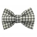 Child gingham bow tie