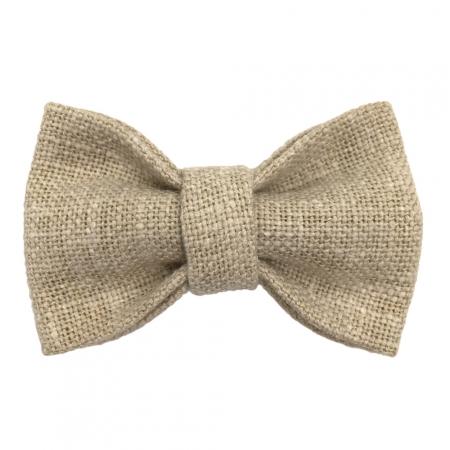 Child linen bow tie