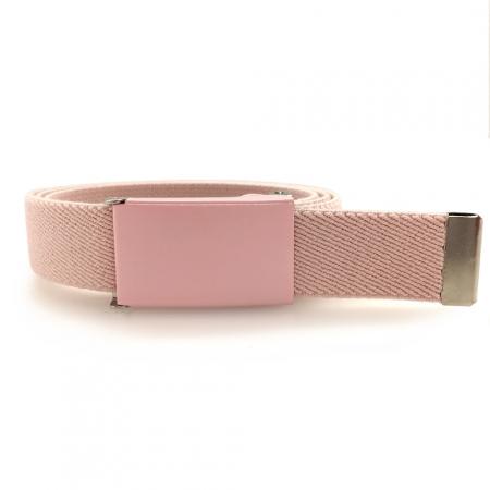 Pastel pink belt, pink buckle