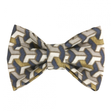 Child houndstooth bow tie