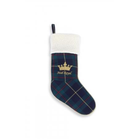 Bottes de Noël écossais vert