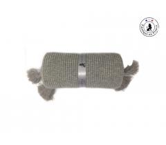 Couverture bébé grise laine