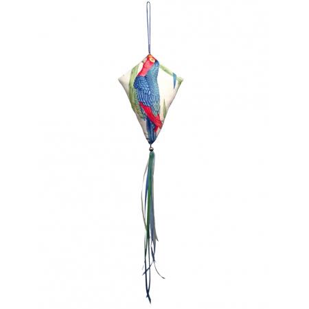 Grand cerf-volant décoratif tropical