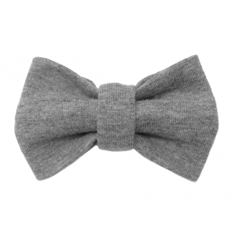 Child grey bow tie, cotton